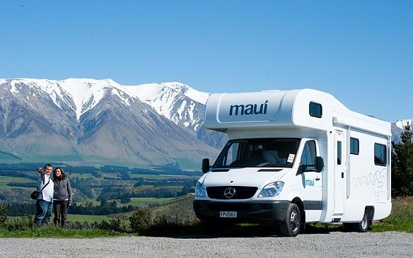 Maui campers Nieuw Zeeland
