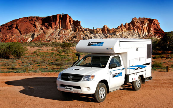 Cheapa Campa camper huren in Alice Springs