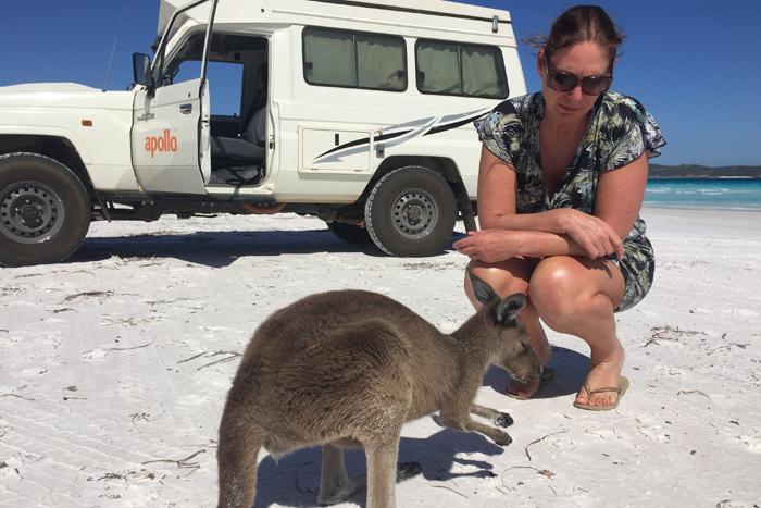 Margret ontdekt Australië met een 4x4