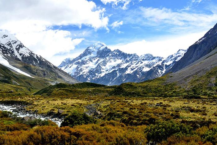 Camperreizen in Nieuw Zeeland