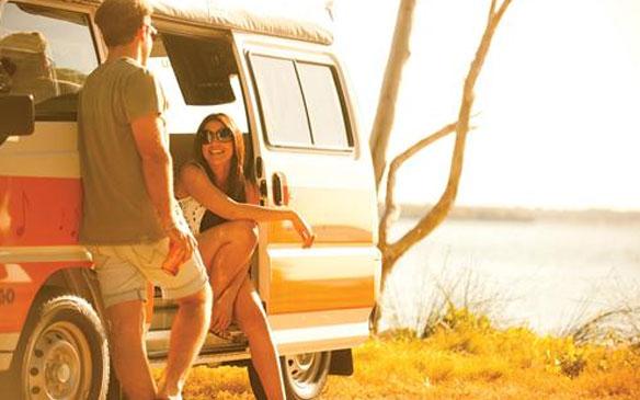 Hippie camper huren in Australie
