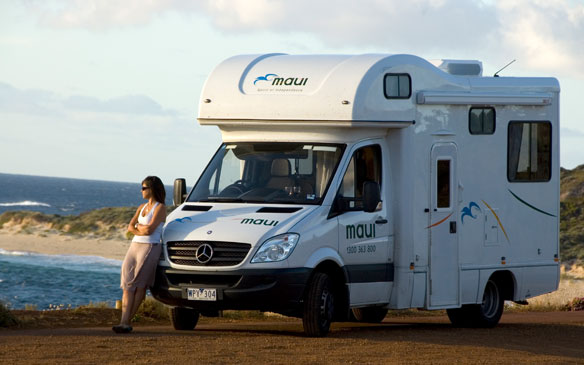 Maui Camper huren in Australië