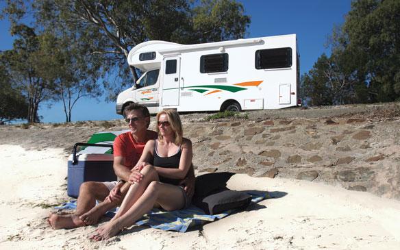 Apollo Camper huren in Australië
