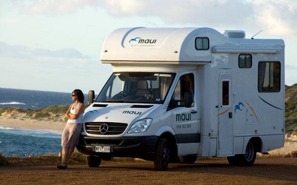 Maui camper huren in Australie