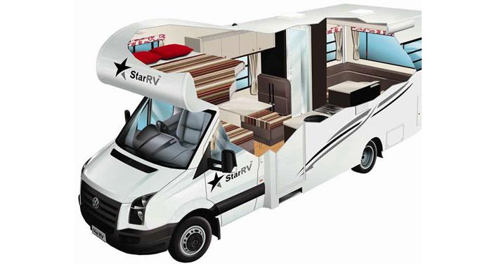 Star RV Pandora camper huren in Nieuw-Zeeland