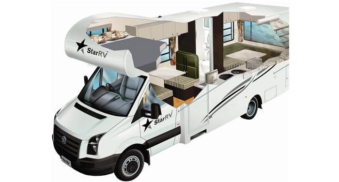 Star RV Hercules camper huren in Nieuw-Zeeland
