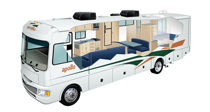 Apollo Elite Traveller camper huren in Amerika