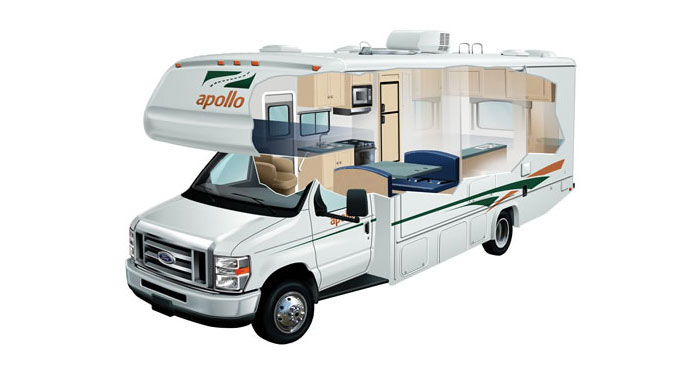 Apollo Eclipse Camper huren in Amerika