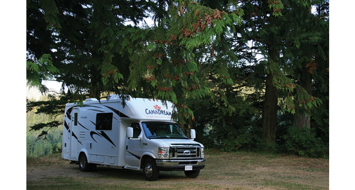 Canadream Super Van Camper huren in Canada