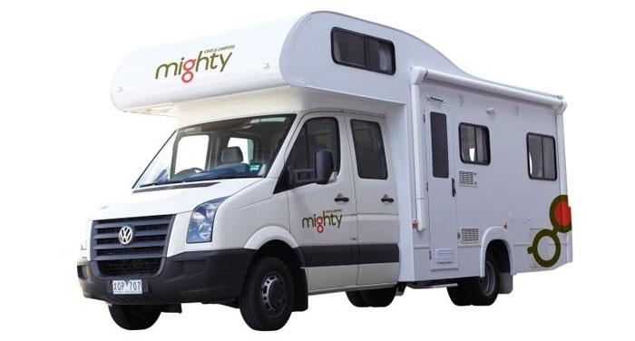 Mighty Big Six camper huren in Australië