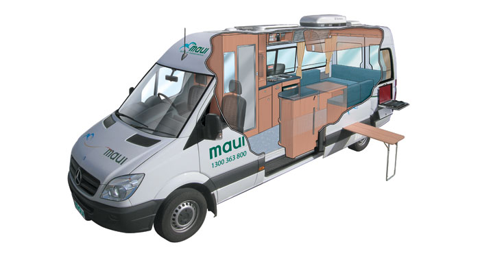 Maui Ultima camper huren in Australië