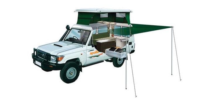 Apollo 4WD Trailfinder Camper huren in Australië