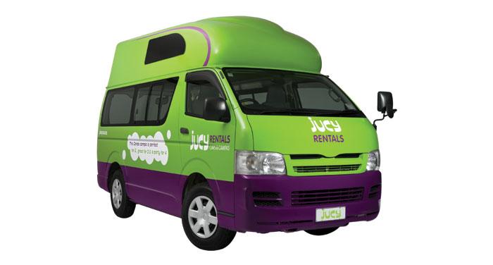 Jucy Condo camper huren in Nieuw-Zeeland