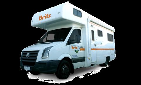Britz Vista camper huren in Nieuw Zeeland
