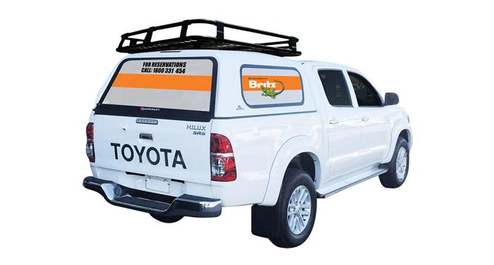 Britz Outback 4WD Camper