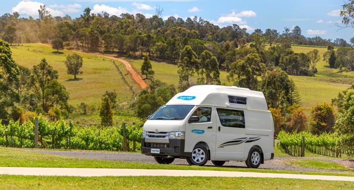 Cheapa Campa Endeavour camper huren in Nieuw Zeeland