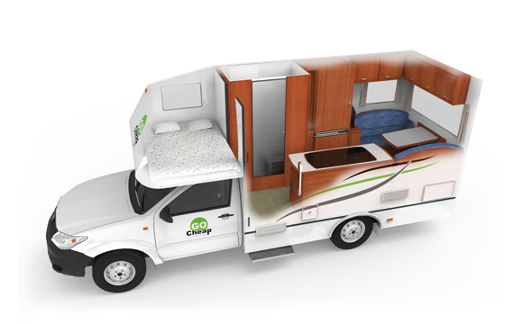 Go Cheap Picton camper huren in Australie