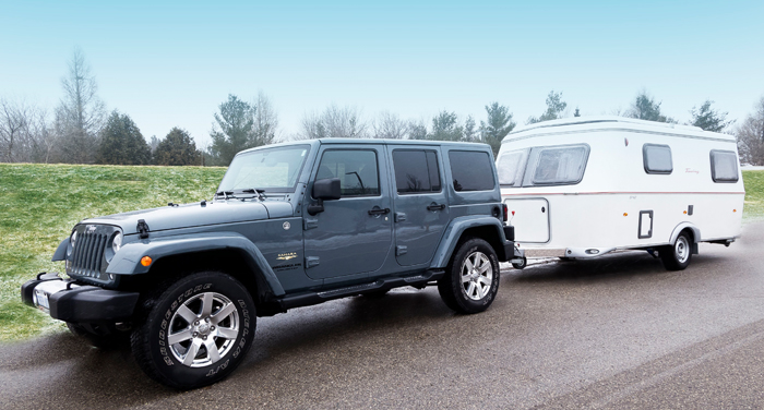 Best Time Jeep and Trailer huren in Canada