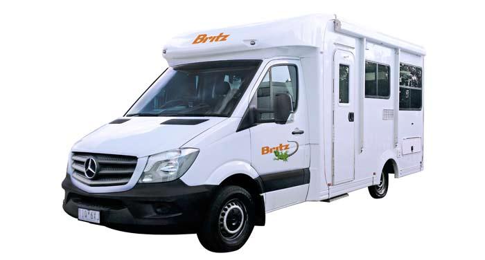 Britz Discovery camper huren in Australië