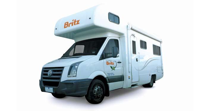 Britz Explorer camper huren in Nieuw-Zeeland