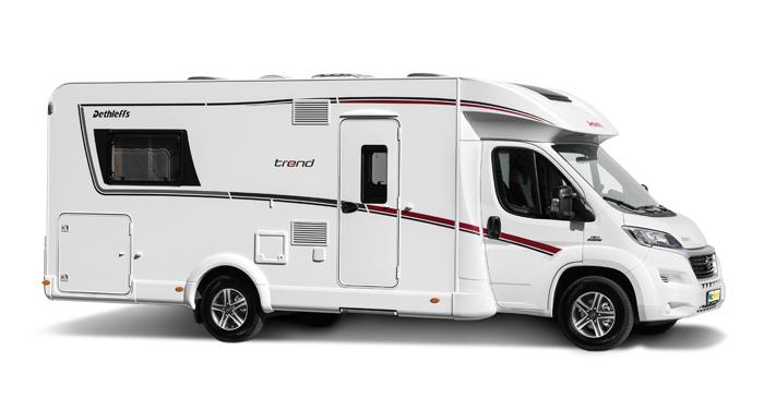 McRent Comfort Standard camper huren