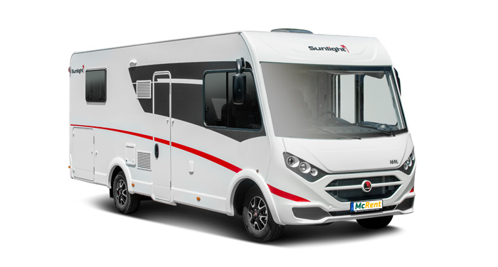 McRent Comfort Luxury camper huren