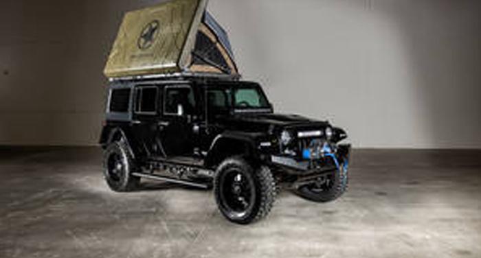 Best Time RV Jeep HighRoller huren in Amerika