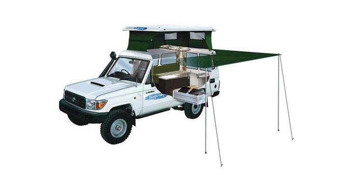 Cheapa Campa Trailfinder camper huren in Australië
