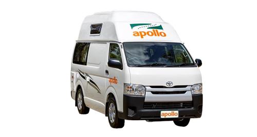 Apollo HiTop camper huren in Australië