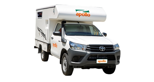 Apollo 4WD Adventure Camper huren in Australië
