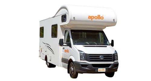Apollo Euro Camper huren in Nieuw-Zeeland