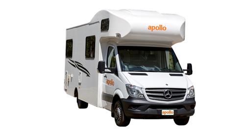 Apollo Euro Deluxe camper huren in Nieuw-Zeeland