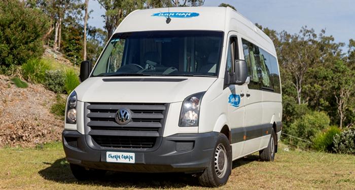 Cheapa Campa 2 berth S/T camper huren in Australië