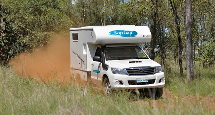 Cheapa Campa Endeavour camper huren in Australië