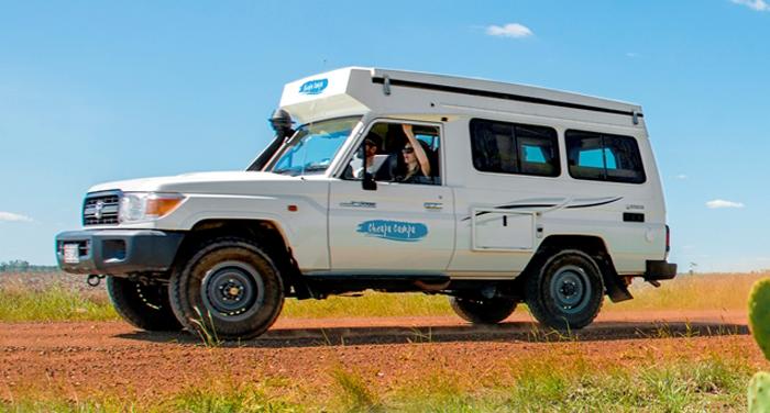 Cheapa Campa 4WD Trailfinder camper huren in Australië