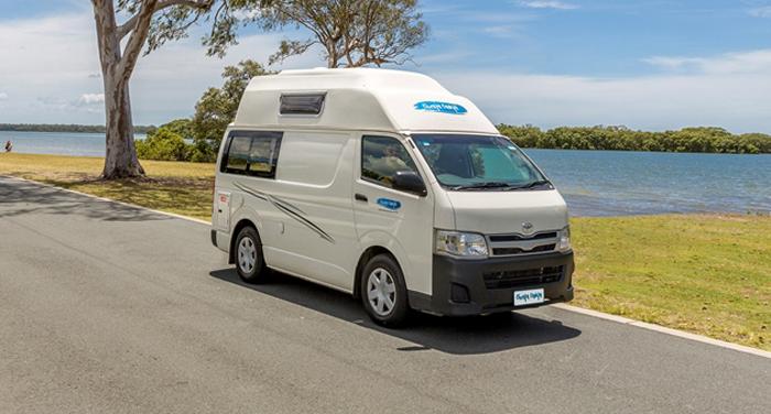 Cheapa Campa HiTop camper huren in Nieuw-Zeeland