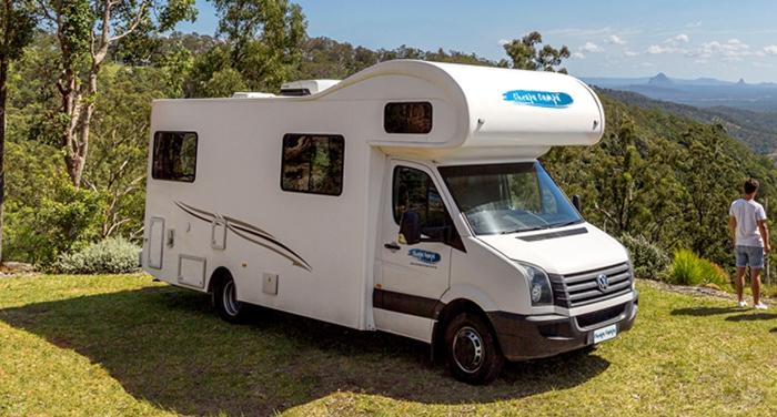 Cheapa Campa 6 Berth camper huren in Nieuw-Zeeland