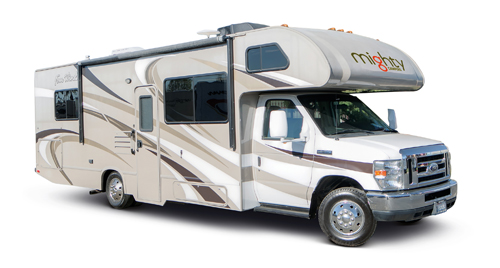M28 Midsize Motorhome huren in Amerika