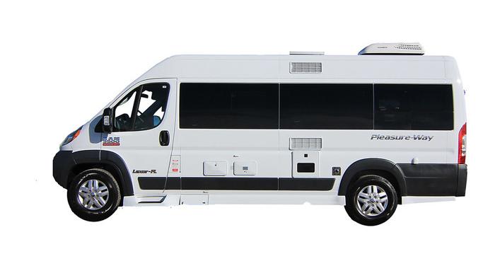 Canadream Deluxe Van Camper huren in Canada