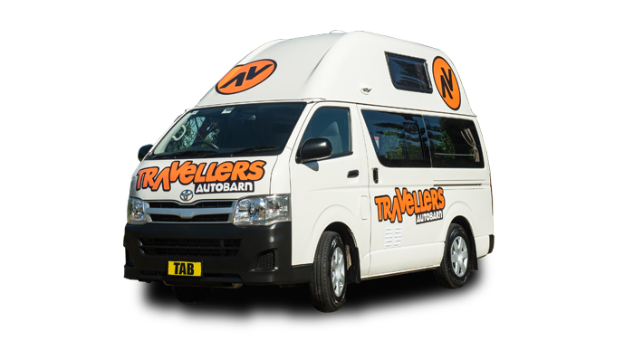 Travellers Autobarn camper huren in Australië