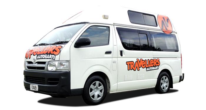 Travellers Autobarn camper huren in Australie