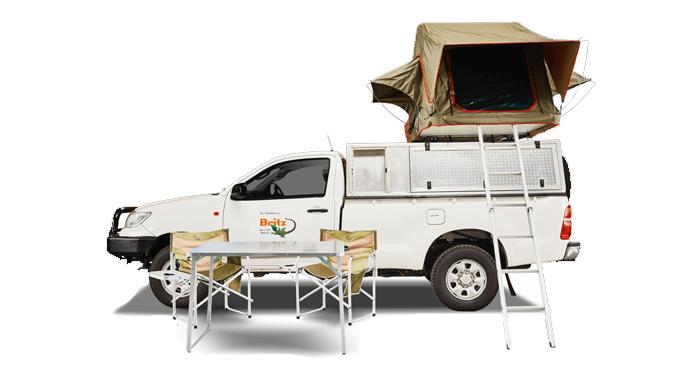 Britz camper huren in Africa