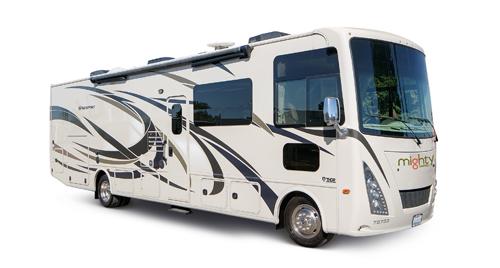 MA33 Luxe Motorhome huren in Amerika