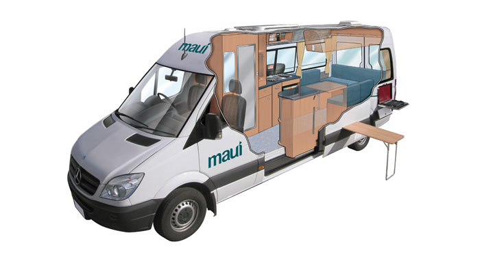 Maui Ultima Campervan