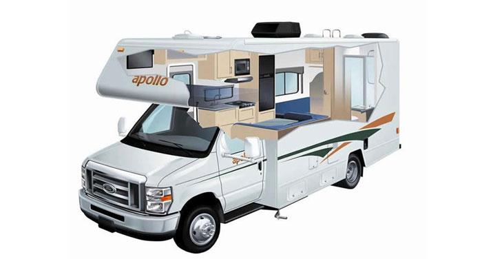 Apollo Pioneer camper