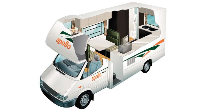 Apollo Euro Camper 4 Berth