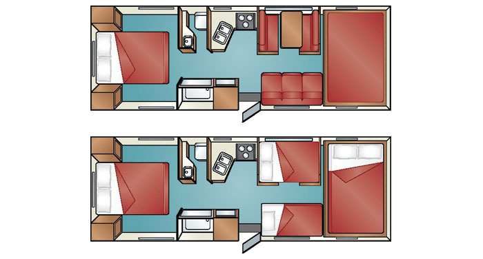Cruise Canada C-30 motorhome inside