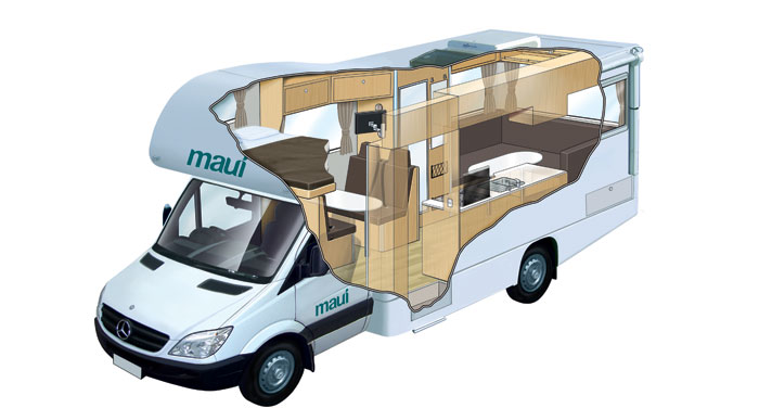 Maui Platinum River 6 Berth