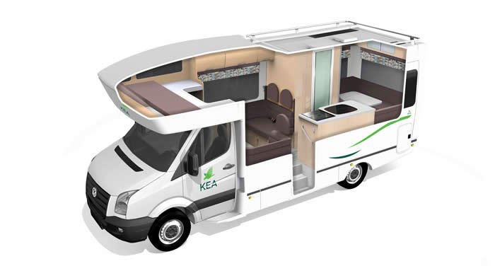 Mini Keuken Camper : KEA 6KQ Luxury camper huren in Australi? Cheap Campers