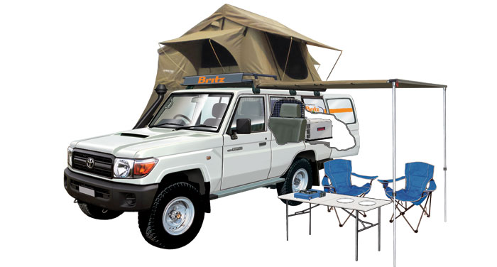 Britz Safari Landcruiser 4WD